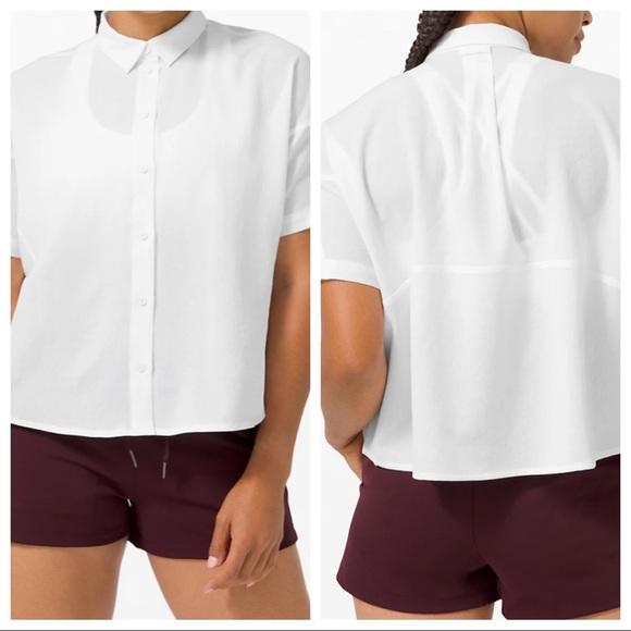 Lululemon Full Day Ahead Short Sleeve Shirt NWT
